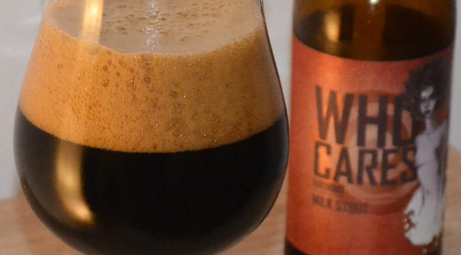 Bevog Who Cares Editions Milk Stout