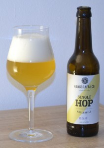 hallertau blanc single hop Hop trial hallertau blanc is a american ipa style beer sweet to be in the first 10 reviews of this single hop the hop series being one of the best.